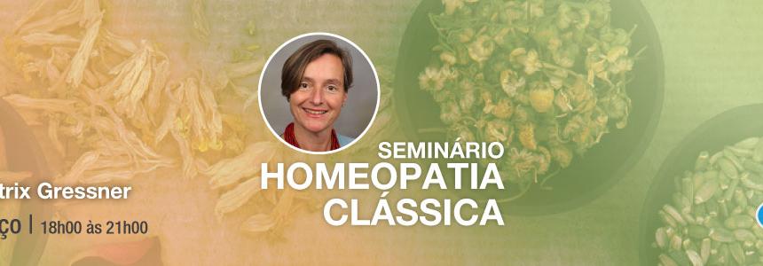 Seminário de Homeopatia Clássica – Beatrix Gressner – 3 de Março