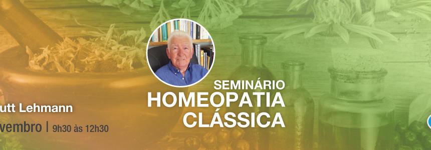 Seminário de Homeopatia Clássica – 19 de Novembro 2017
