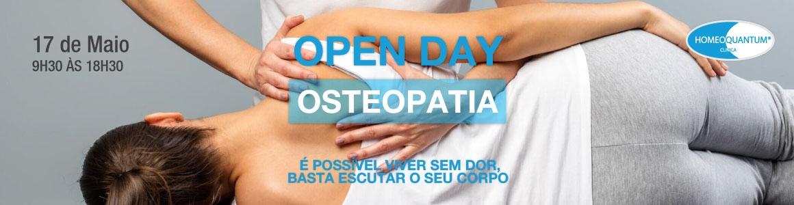 OPEN DAY – Osteopatia – 17 de Maio de 2018