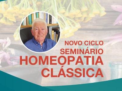 Seminário de Homeopatia Clássica – 13 de Maio de 2018
