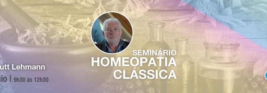 Seminário de Homeopatia Clássica – 14 de Maio 2017