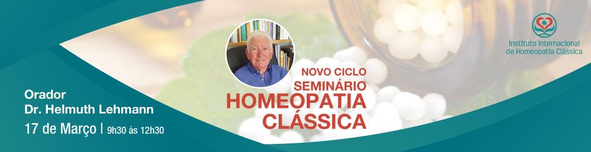 Seminário de Homeopatia Clássica –  DR. Lehmann-17 de Março de 2019 – Paço de Arcos