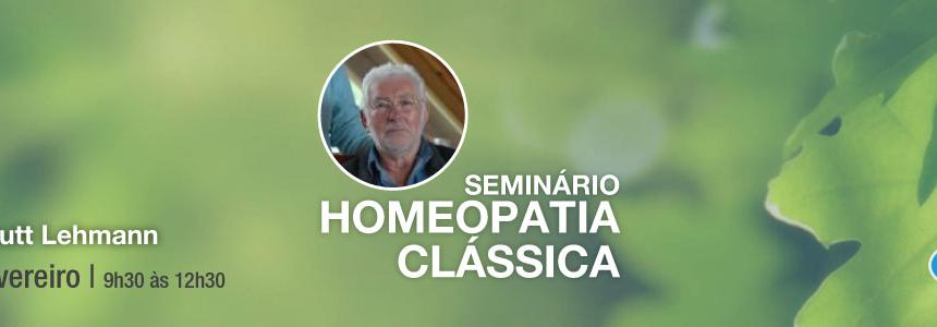 Seminário de Homeopatia Clássica – 12 de Fevereiro