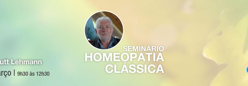 Seminário de Homeopatia Clássica – 12 de Março