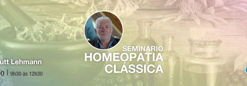 Seminário de Homeopatia Clássica – 2 Julho 2017