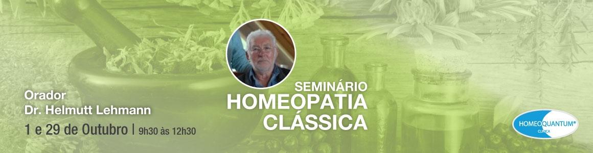 Seminário de Homeopatia Clássica – 29 de Outubro 2017