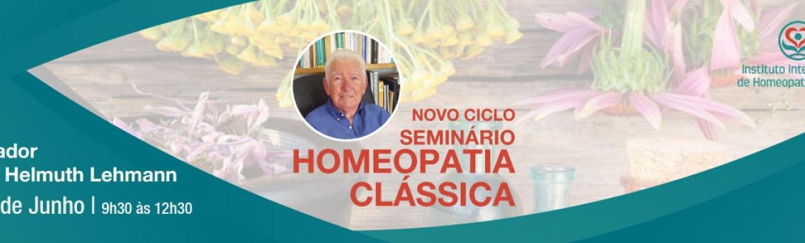 Seminário de Homeopatia Clássica – 17 de Junho de 2018