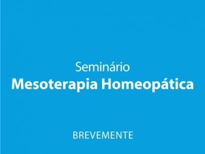 Seminário Mesoterapia Homeopática