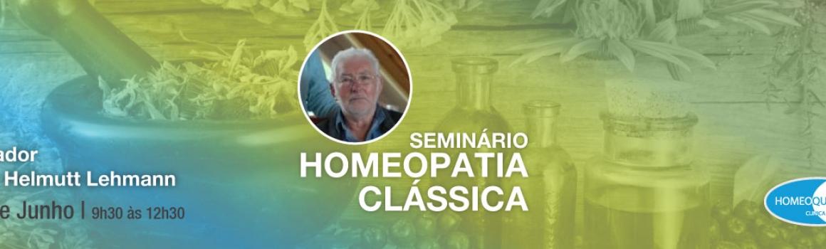 Seminário de Homeopatia Clássica – 4 Junho 2017