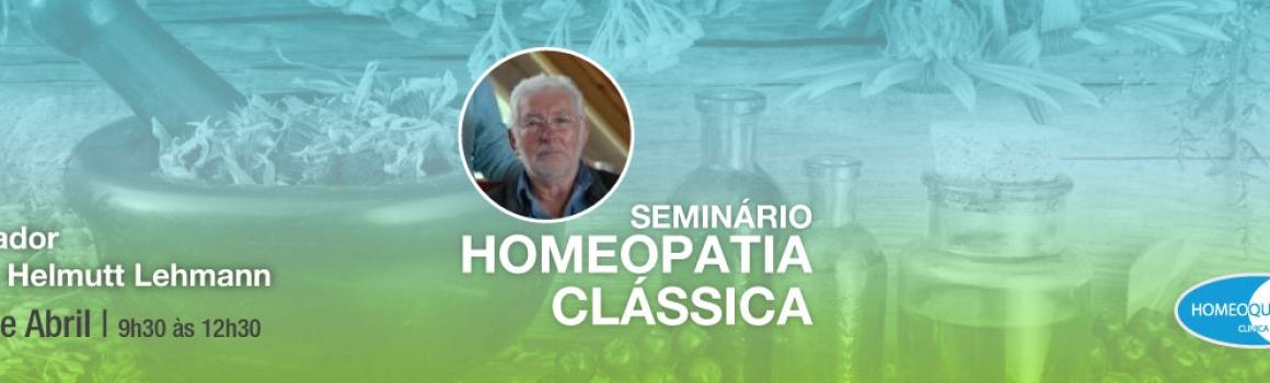 Seminário de Homeopatia Clássica – 2 de Abril
